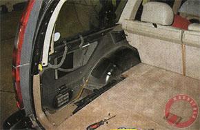 автоэлектроника автоакустика: ТехноМануал. Сабвуфер 'стеллс' в заднее крыло