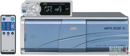 CD/MP3-чейнджер c FM-модулятором JVC CH-X1500RF