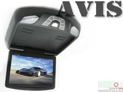Потолочный монитор с DVD-проигрывателем AVIS AVS1118T black