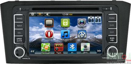 Мультимедийная система для штатной установки, с навигацией для Toyota Avensis 03-08 SWAT 12-2202