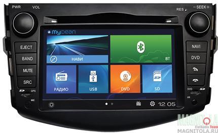 Мультимедийная система для штатной установки, с навигацией для Toyota RAV4 (2006-2012) MyDean 2018