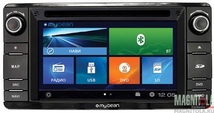 Мультимедийная система для штатной установки, с навигацией для Mitsubishi Outlander, ASX, Lancer X, Pajero Sport MyDean 2230
