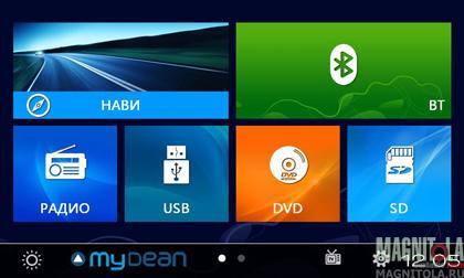 Мультимедийная система для штатной установки для SsangYong Actyon (2013-) MyDean 2804-1