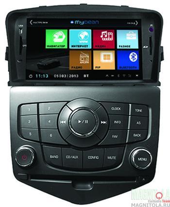 Мультимедийная система для штатной установки, с навигацией для Chevrolet Cruze (2008-2012) MyDean 3045