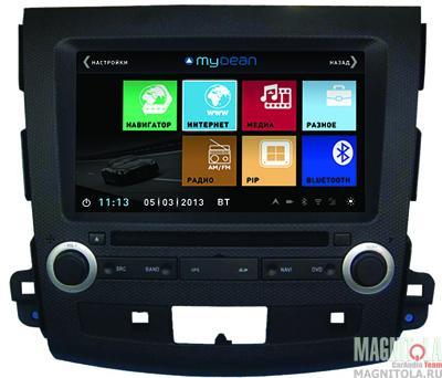 Мультимедийная система для штатной установки, с навигацией для Mitsubishi Outlander XL, Peugeot 4007 MyDean 3056