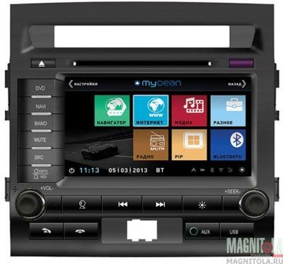 Мультимедийная система для штатной установки для Toyota Land Cruiser 200 (2012-) без штатного монитора MyDean 3060