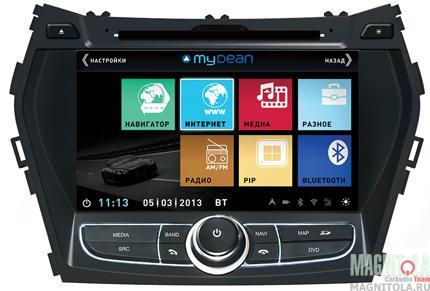 �������������� ������� ��� ������� ���������, � ���������� ��� Hyundai Santa Fe (2013-) MyDean 3209