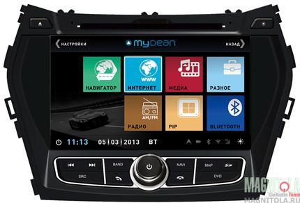 �������������� ������� ��� ������� ���������, � ���������� ��� Hyundai Santa Fe (2013-) MyDean 3210