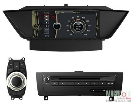 Мультимедийная система для штатной установки, с навигацией для BMW X1 (2009-) MyDean 3219