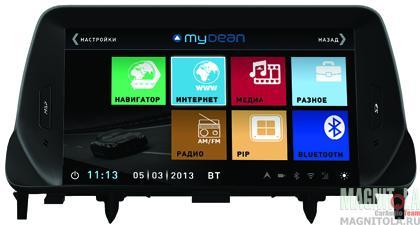 Мультимедийная система для штатной установки, с навигацией для Opel Mokka (2012-) MyDean 3235
