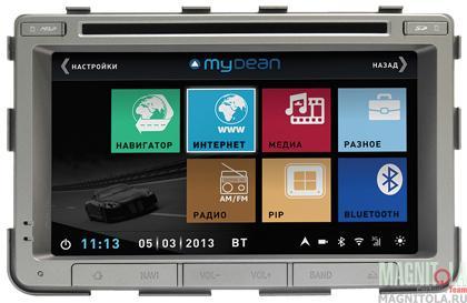 Мультимедийная система для штатной установки для SsangYong Rexton III (2013-) MyDean 3269