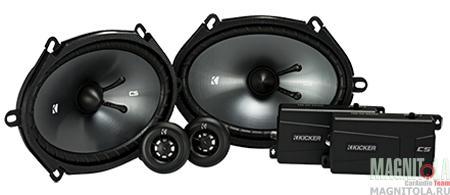 Компонентная акустическая система Kicker 43CSS684