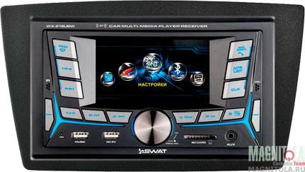 Мультимедийная система для штатной установки для Lada Granta без рул.упр SWAT 48-1201