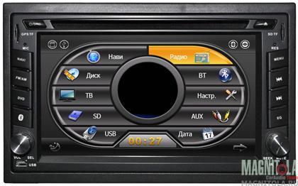 Универсальная мультимедийная система для штатной установки, с навигацией MyDean 7340