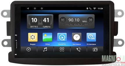 Мультимедийная система для штатной установки для Renault Duster,Logan,Sandero,Kaptur, Nissan Terrano с рул. упр. SWAT 85-1401R
