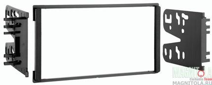 Переходная рамка 2DIN для автомобилей KIA Sorento 1, Spectra (крепеж) MeTra 95-1005