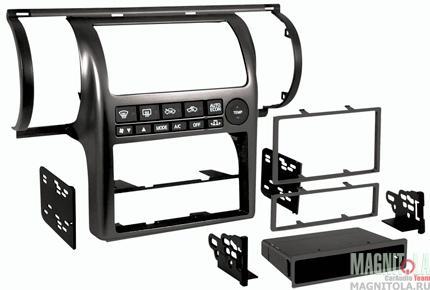Переходная рамка 2/1DIN для автомобилей Infinity G35 03+ (крепеж) MeTra 99-7604