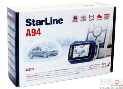 Автомобильная сигнализация StarLine A94 GSM