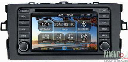 Мультимедийная система для штатной установки, с навигацией для Toyota Auris (2007-2011) INCAR AHR-2187AU