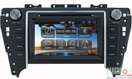 Мультимедийная система для штатной установки, с навигацией для Toyota Camry 2012+ JBL INCAR AHR-2281JB