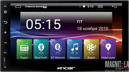 Универсальная мультимедийная система для штатной установки INCAR AHR-7680