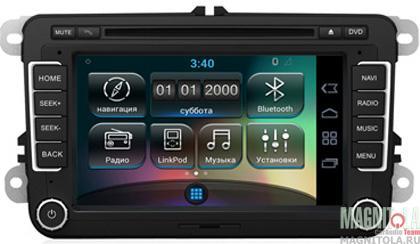 Мультимедийная система для штатной установки, с навигацией для VW INCAR AHR-8688