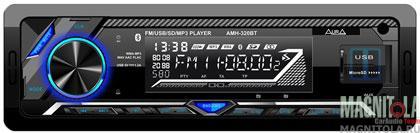 Бездисковый ресивер с поддержкой Bluetooth AURA AMH-320BT