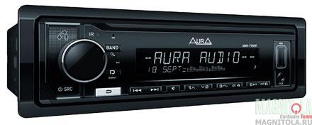 Бездисковый ресивер с поддержкой Bluetooth AURA AMH-77DSP BLACK EDITION