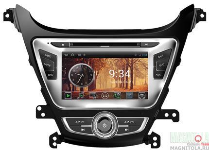 Мультимедийная система для штатной установки, с навигацией для Hyundai Elantra (2014-) MyDean AND3092-3