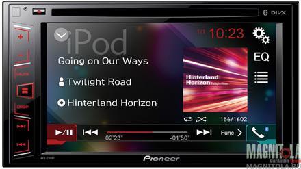 2DIN мультимедийный центр с поддержкой Bluetooth Pioneer AVH-290BT