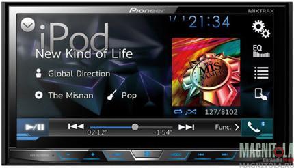 2DIN мультмедийный центр с поддержкой Bluetooth Pioneer AVH-X5700BT