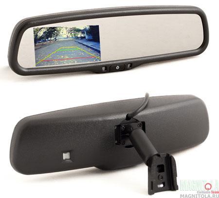 Зеркало заднего вида со встроенным монитором AVIS AVS0489BM