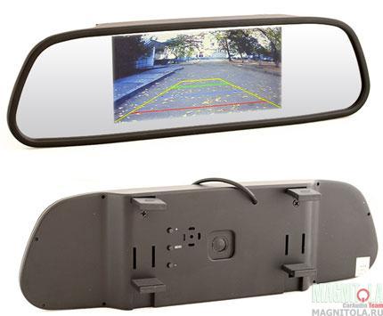 Зеркало заднего вида со встроенным монитором AVIS AVS0501BM