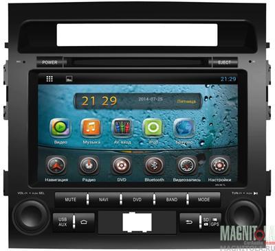 Мультимедийная система для штатной установки, с навигацией для Toyota Land Cruiser 200 AVIS AVS090A
