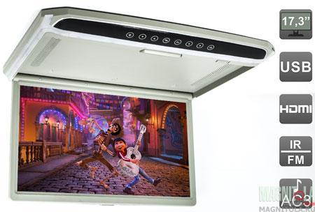 Потолочный монитор со встроенным медиаплеером AVEL AVS1707MPP