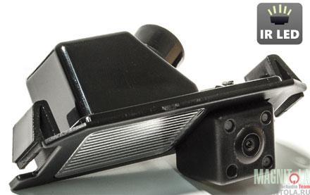Камера заднего вида для автомобилей Hyundai I20/I30, Kia Genesis Coupe (2012-)/Picanto/Soul AVIS AVS315CPR (026)