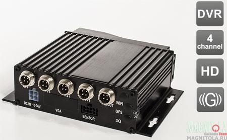4-канальный автомобильный видеорегистратор AVIS AVS610DVR