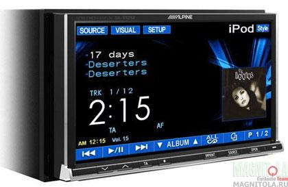 2DIN мультимедийный центр Alpine IVA-W505R