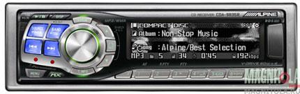 CD/MP3-ресивер Alpine CDA-9835R
