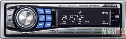 CD/MP3-ресивер с прямым подключением к iPod Alpine CDE-9850Ri