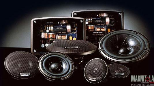 Компонентная акустическая система Alpine SPX-Z18T