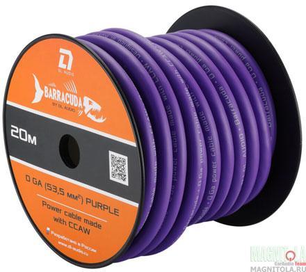Силовой кабель DL Audio Barracuda Power Cable 0 Ga Purple