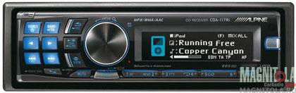 CD/MP3-������� � USB Alpine CDA-117Ri