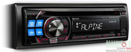 CD/MP3-������� � USB � ���������� Bluetooth Alpine CDE-103BT