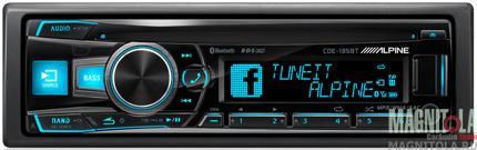 CD/MP3-ресивер с USB и поддержкой Bluetooth Alpine CDE-185BT