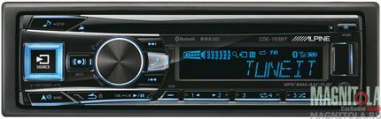 CD/MP3-ресивер с USB и поддержкой Bluetooth Alpine CDE-193BT