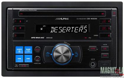 2DIN CD/MP3-������� Alpine CDE-W203Ri