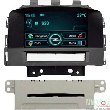Мультимедийная система для штатной установки, с навигацией для Opel Astra J (2010-2013) INCAR CHR-1209 OP