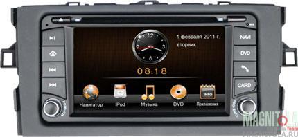Мультимедийная система для штатной установки, с навигацией, для Toyota Auris INTRO CHR-2177 AU