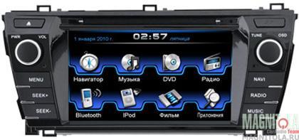 Мультимедийная система для штатной установки, с навигацией для Toyota Corolla (2013 - 2014) INCAR CHR-2244CO